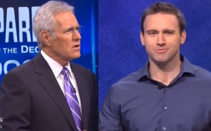 Alex Trebek had a really awkward moment with a contestant