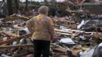Oklahoma tornado survivor finds dog buried alive under rubble