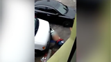 Bizarre Video Shows Man 'Having Sex With Road' For Some Reason