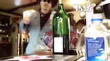 JOHNNY DEPP GOES OFF ON AMBER ... SMASHES WINE