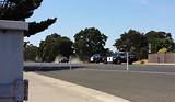 Bank Robbery Shoot Out in Stockton CA