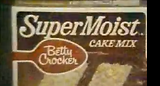 Old Betty Crocker Moist Cake Mix Commercial