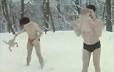 Russian Olympic Training