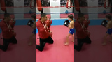 little kid kickboxer