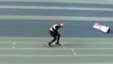 Watch 95-year-old retired dentist smash 200m sprint record