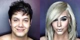 Make-up artist transforms himself into Kim Kardashian, Taylor Swift, Dakota Johnson