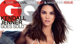 Kendall Jenner on the cover of GQ Magazine