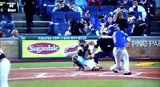 Pirates vs Cubs Foul Ball Hits Woman In Back Of The Head
