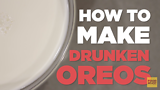 How To Make Drunken Oreos